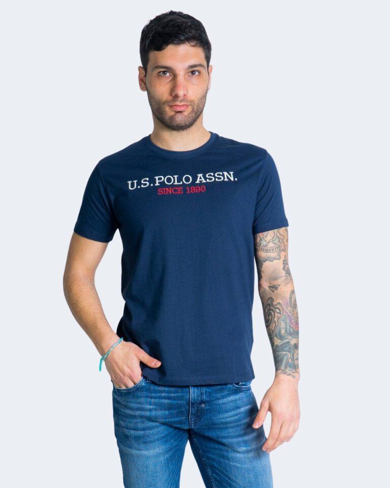 T-shirt U.S. Polo Assn. - Blu - Foto 1