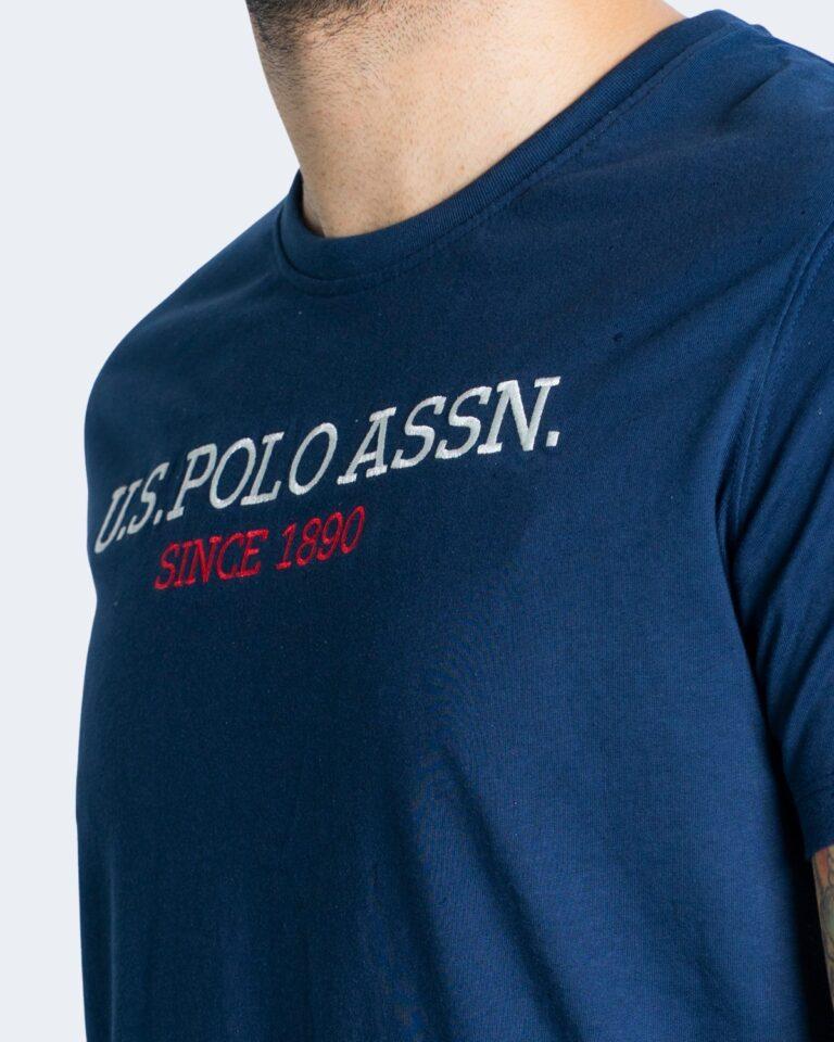 T-shirt U.S. Polo Assn. - Blu - Foto 3