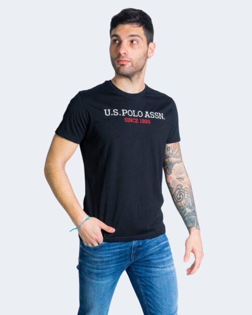 T-shirt U.S. Polo Assn. - Nero - Foto 1
