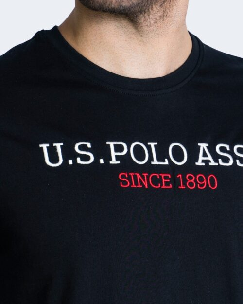 T-shirt U.S. Polo Assn. - Nero - Foto 3