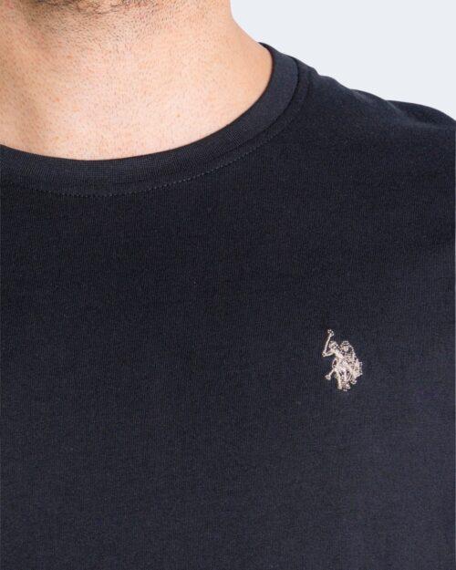 T-shirt U.s. Polo Assn. HORSE LOGO Nero – 67803