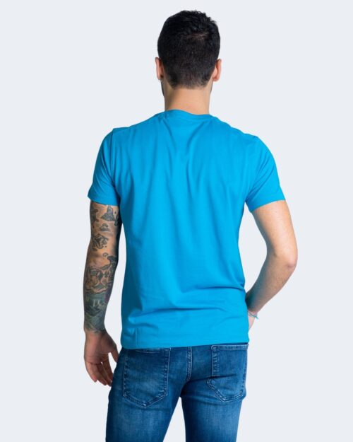 T-shirt U.s. Polo Assn. HORSE LOGO Turchese – 67803