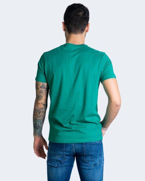 T-shirt U.s. Polo Assn. HORSE LOGO Verde – 67803