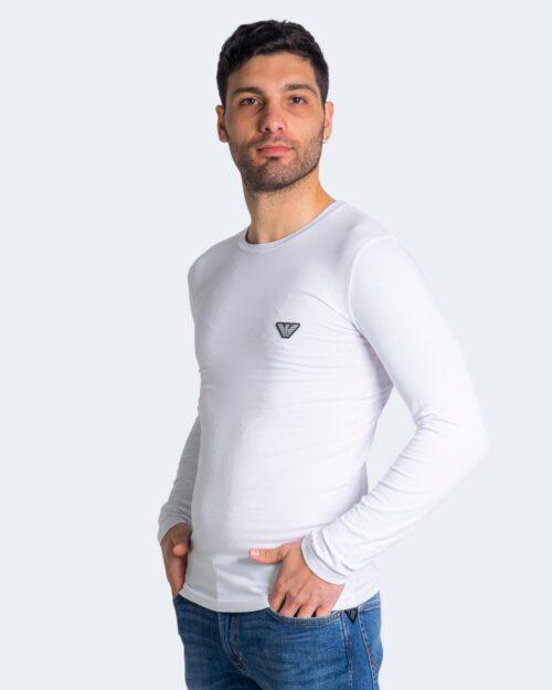 T-shirt manica lunga Emporio Armani – Bianco – 70838