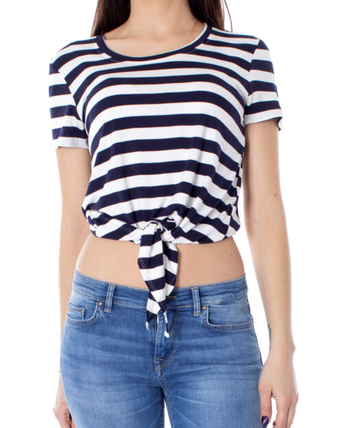 T-shirt Only Arli S/S Knot Top Jrs Noos Panna – 28466