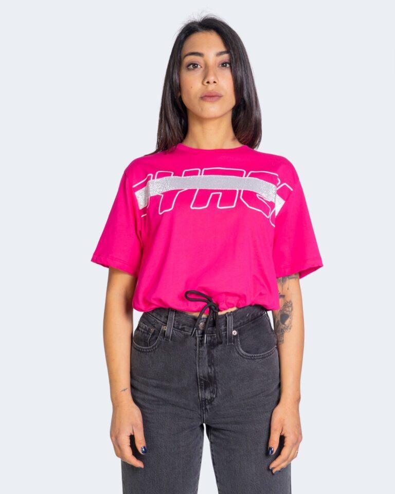 T-shirt Pyrex - Fuxia - Foto 2