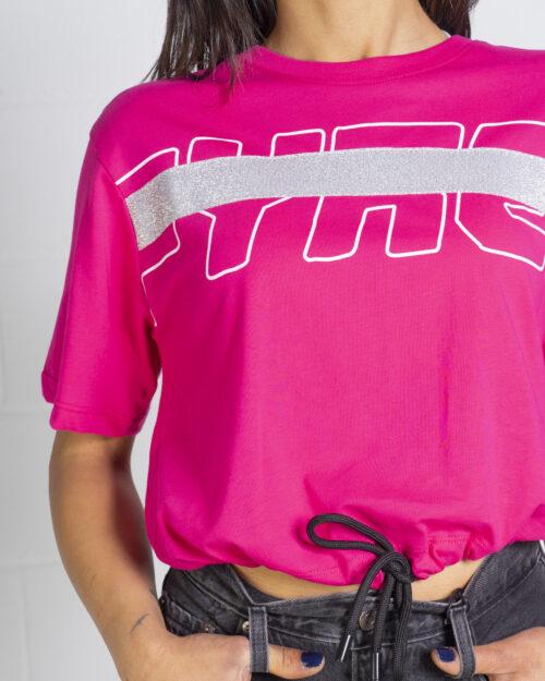 T-shirt Pyrex - Fuxia - Foto 4