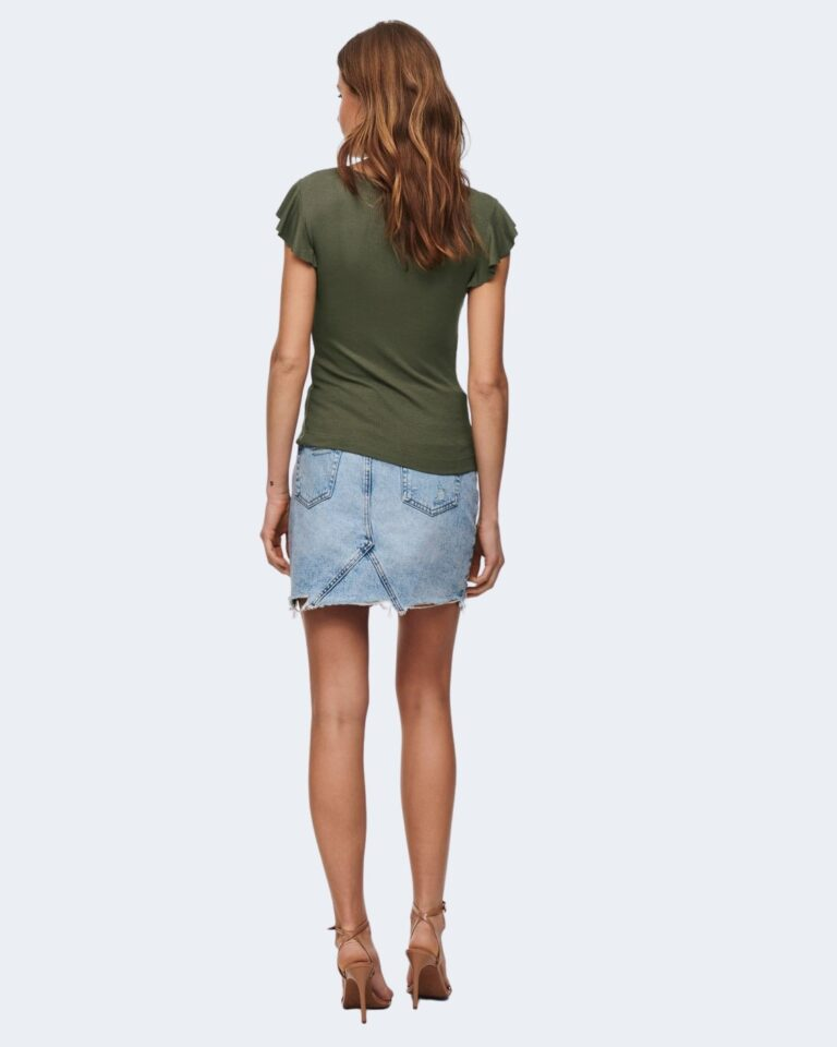 T-shirt Only BELIA Verde Oliva - Foto 4