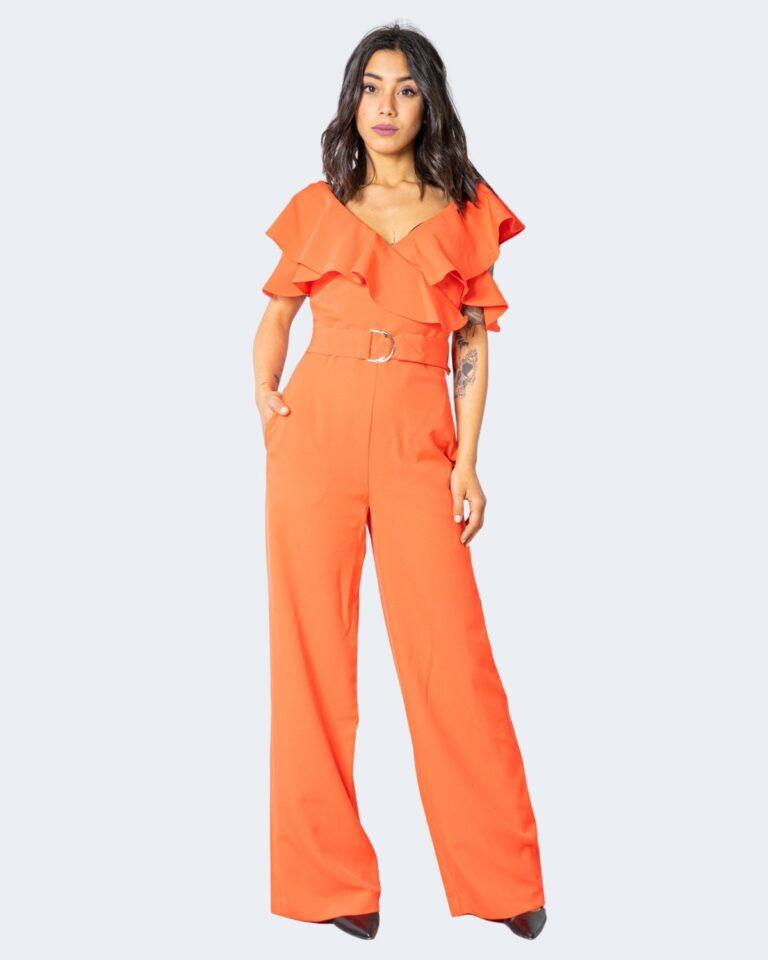 Tuta elegante Guess ABEL JUMPSUIT Arancione - Foto 1