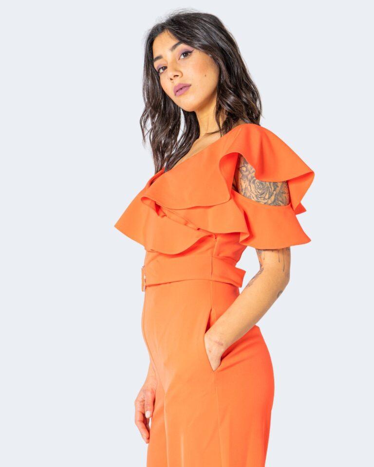 Tuta elegante Guess ABEL JUMPSUIT Arancione - Foto 2