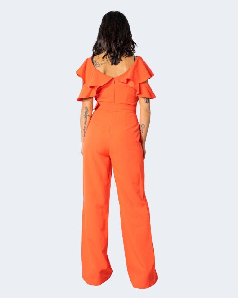 Tuta elegante Guess ABEL JUMPSUIT Arancione - Foto 3