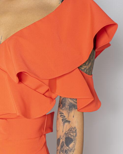 Tuta elegante Guess ABEL JUMPSUIT Arancione - Foto 4