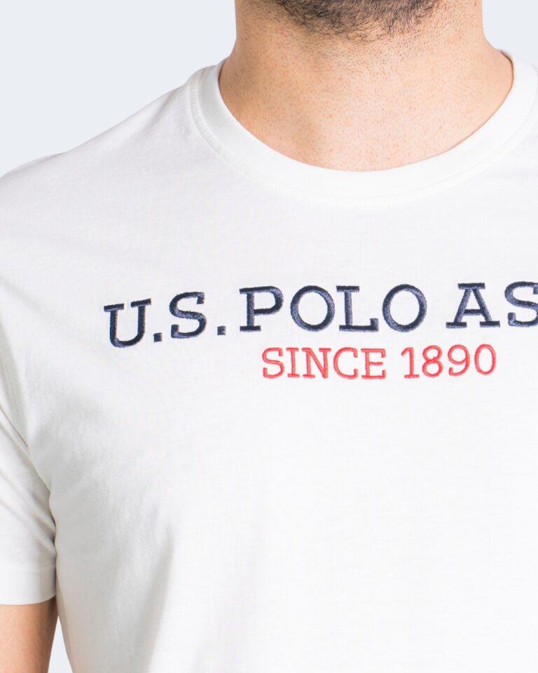 Polo manica corta U.S. Polo Assn. - Bianco - Foto 3
