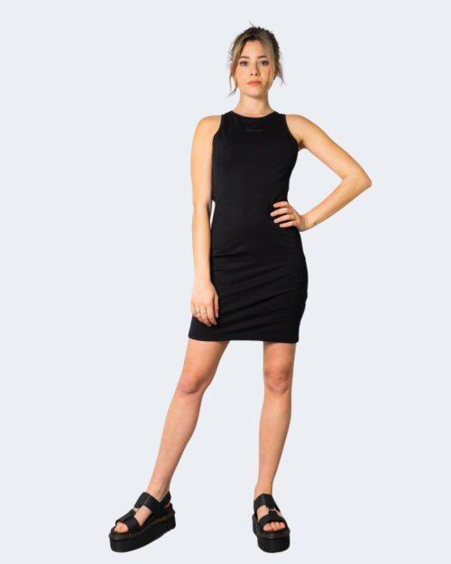 Vestito corto Calvin Klein TRIM RACER BACK Nero – 64596
