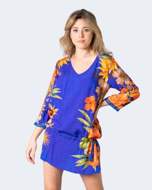 Vestito corto Desigual corcega Azzurro - Foto 1