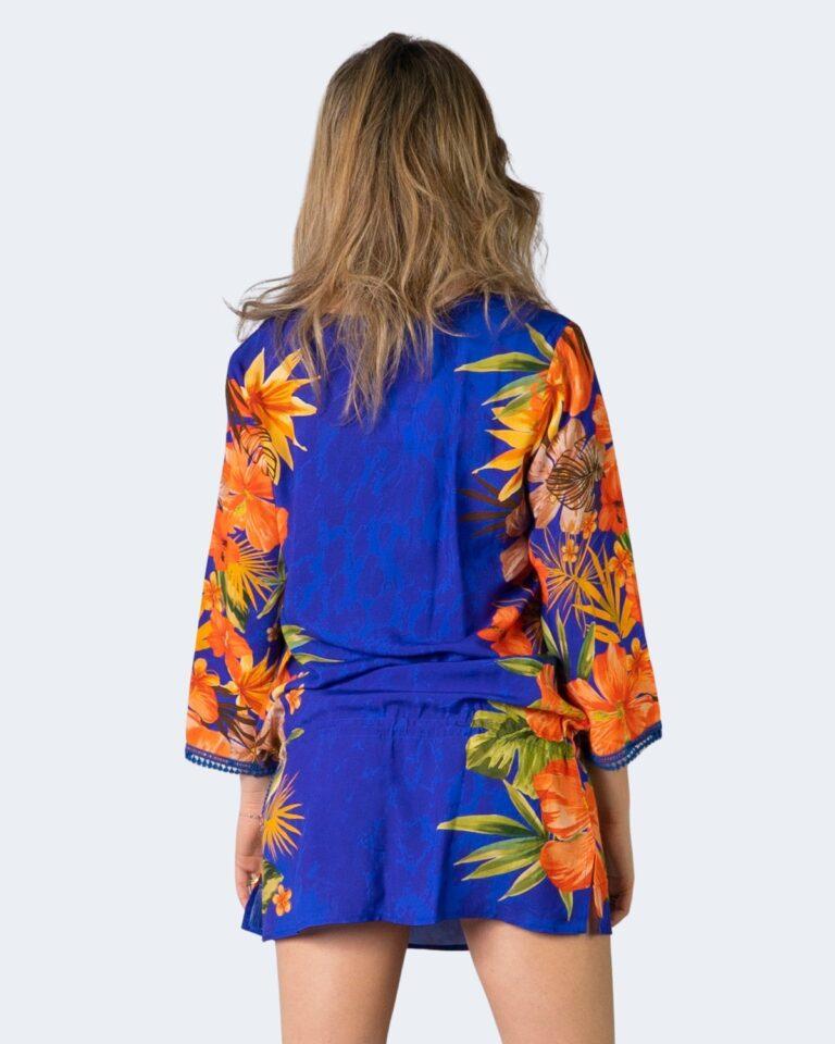 Vestito corto Desigual corcega Azzurro - Foto 2