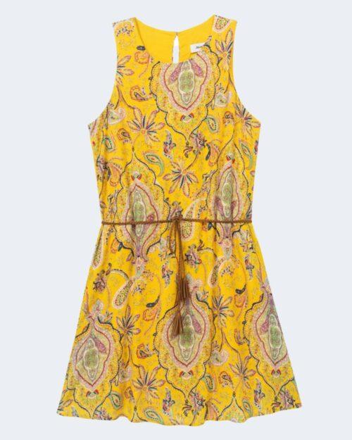 Vestito corto Desigual ADRIANA Giallo - Foto 3