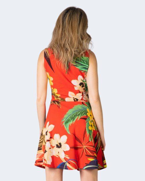 Vestito corto Desigual Vest Memphis Rosso – 39705
