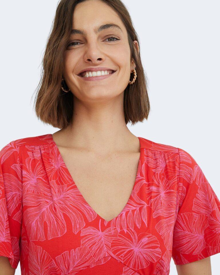 Vestito corto Desigual NADIA Rosso - Foto 2