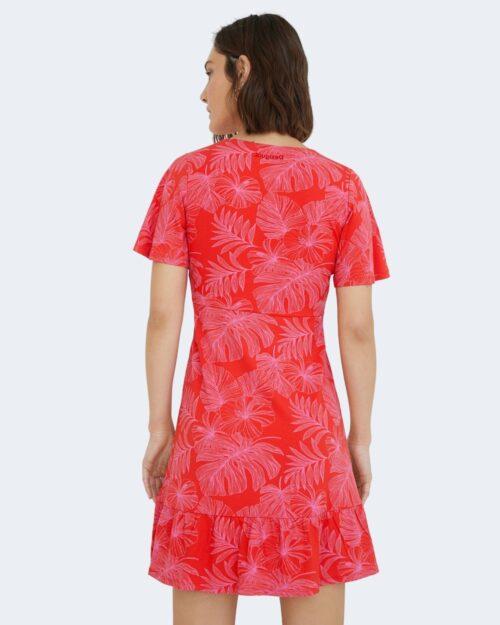 Vestito corto Desigual NADIA Rosso - Foto 3