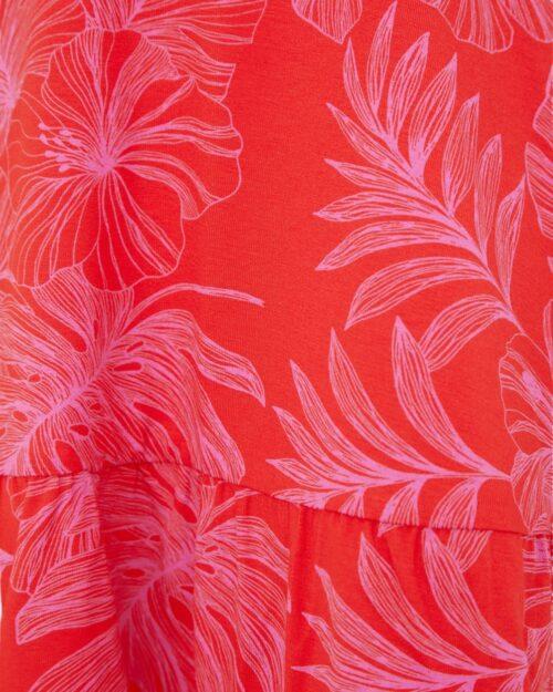 Vestito corto Desigual NADIA Rosso - Foto 4
