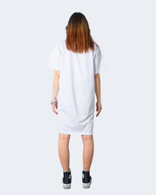 Vestito corto Glsr MAXI T-SHIRT COLOR Bianco – 53427