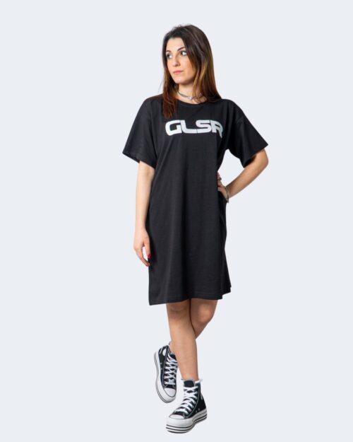 Vestito corto Glsr MAXI T-SHIRT COLOR Nero – 53427