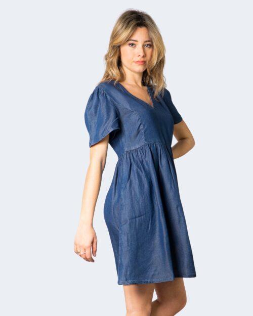 Vestito corto Only VERA Blue Denim Scuro – 63262