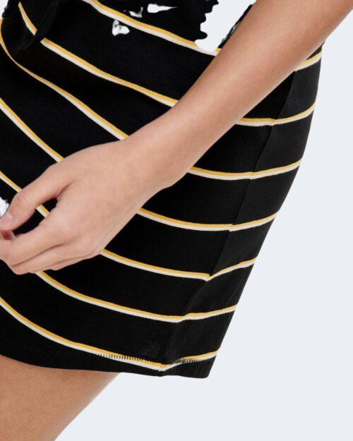Vestito corto Only MAY DRESS NOOS Nero - Foto 4