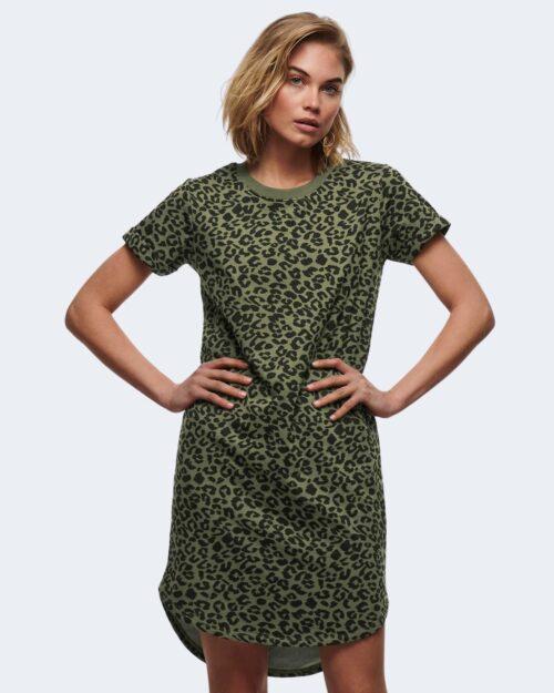 Vestito corto Jacqueline De Yong IVY Verde Oliva – 63238