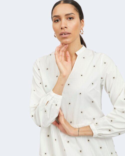 Vestito corto Vila Clothes DITSY DRESS Bianco – 62964