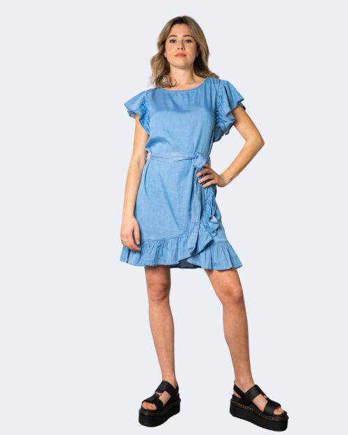 Vestito corto Vila Clothes GRAZE Denim chiaro – 62962