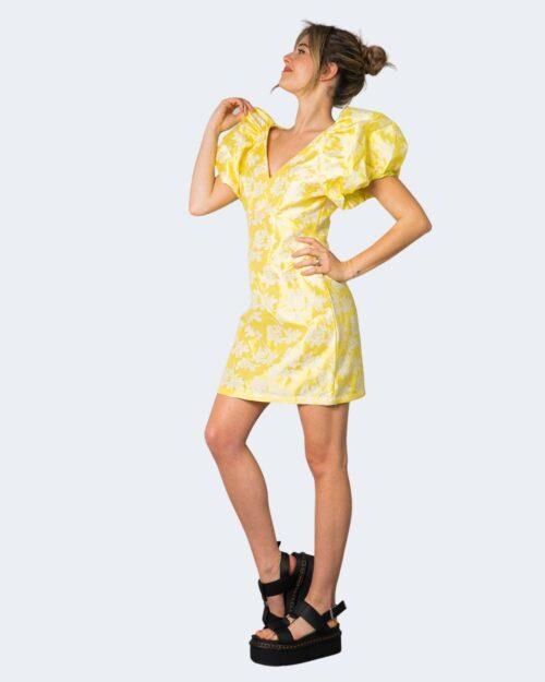 Vestito corto Vila Clothes VIPETIA V-NECK S/S DRESS/DC Giallo – 62948