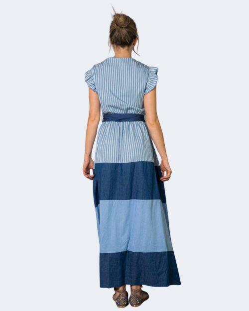 Vestito lungo Akè HOLLAND Blue Denim – 70299