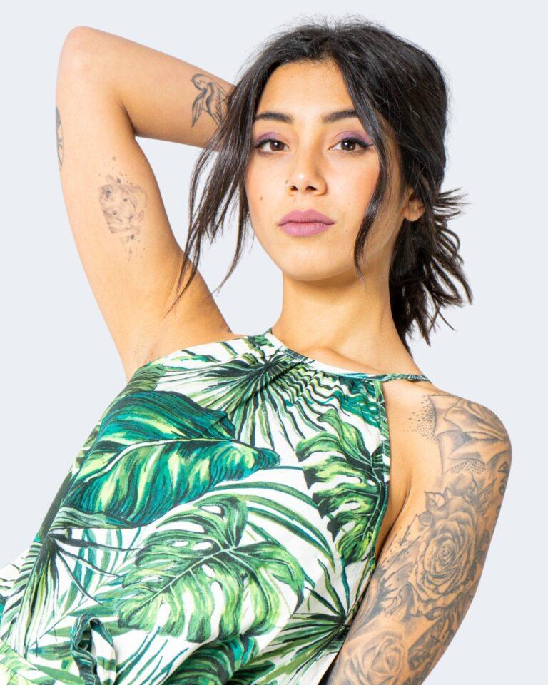 Vestito lungo Only ALMA Verde - Foto 2