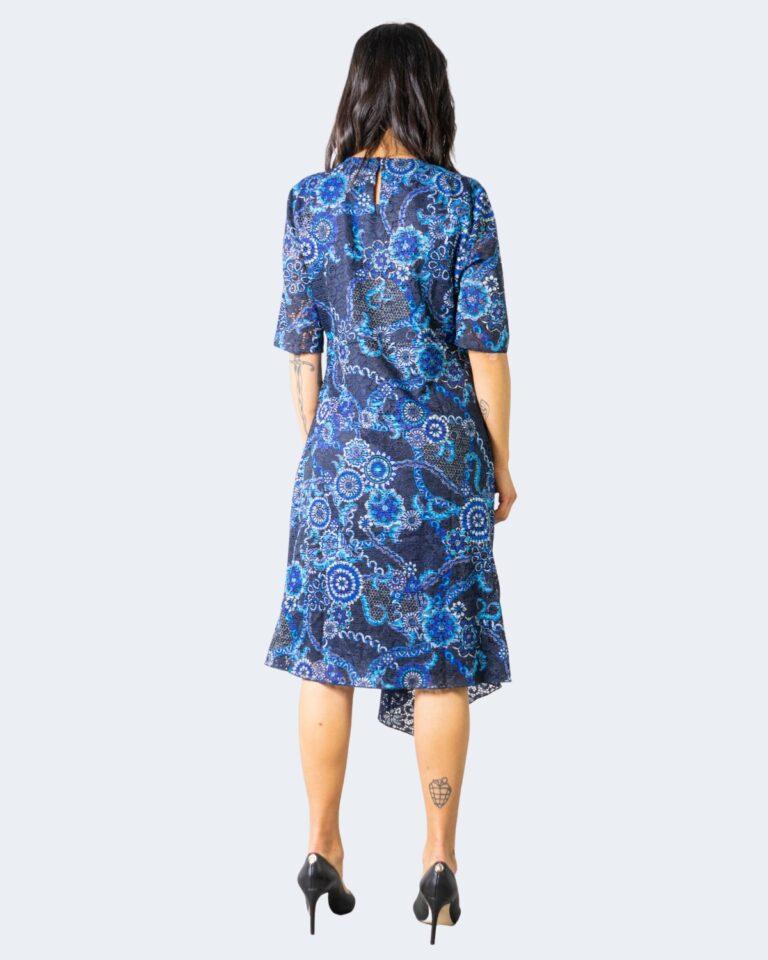 Vestito midi Desigual Vest Samanta Blue scuro - Foto 2