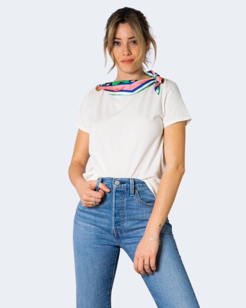 T-shirt Vicolo CON FOULARD Bianco – 70852
