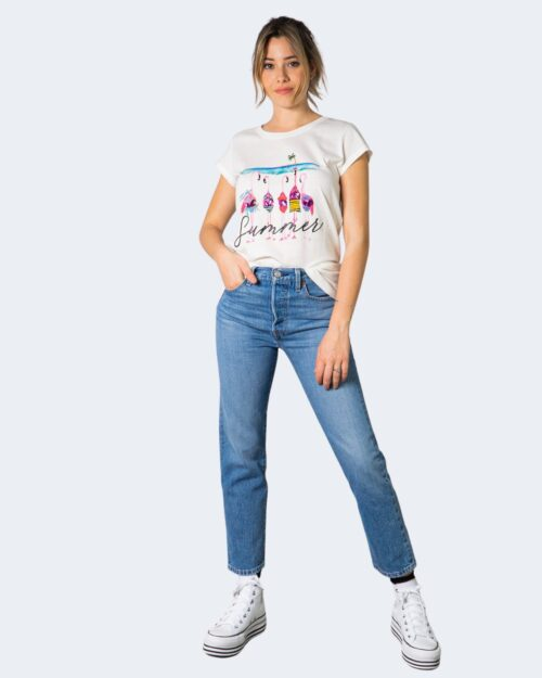 T-shirt Vicolo FENICOTTERI Bianco – 70850