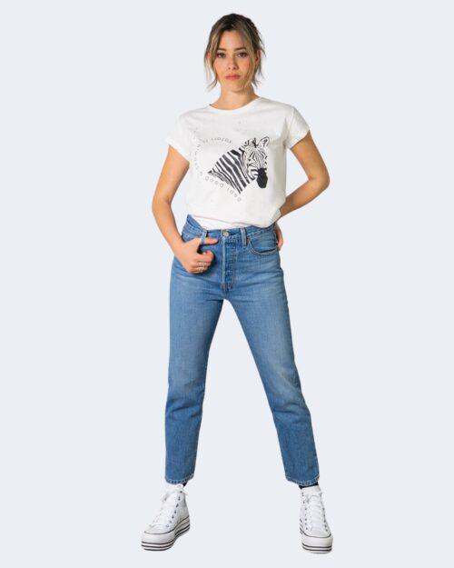 T-shirt Vicolo ZEBRA Bianco – 70846