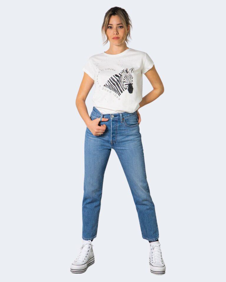 T-shirt Vicolo ZEBRA Bianco - Foto 2