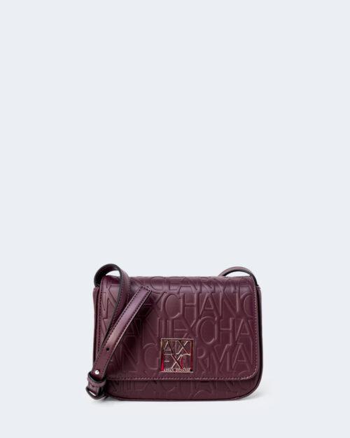 Borsa Armani Exchange SMALL SHOULD COLOR Bordeaux – 45305