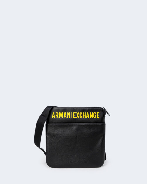 Borsa Armani Exchange FLAT CROSS BODY Nero – 71519