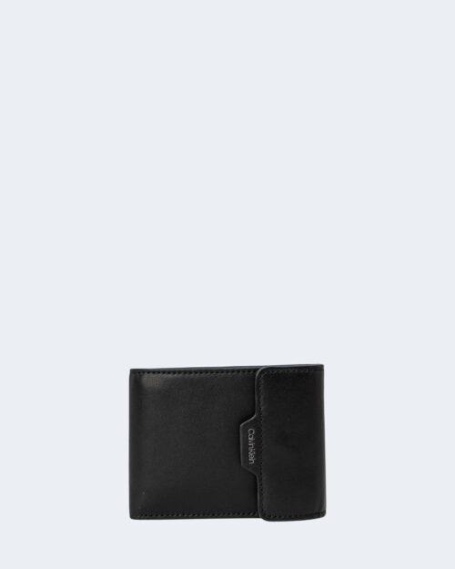 Portafoglio con portamonete Calvin Klein FLAP 3CC Nero – 71494