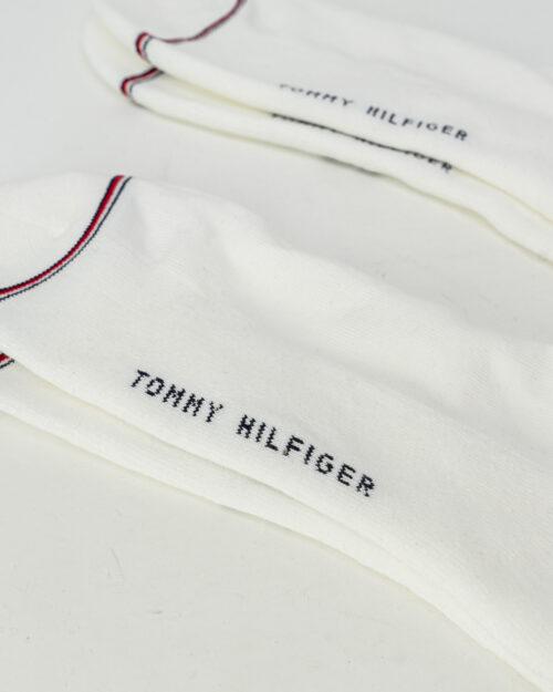 Calzini corti Tommy Hilfiger ICONIC QUARTER Bianco – 61541