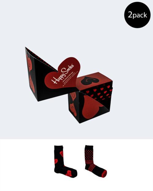 Calzini Happy Socks XVAL02 VALENTINE GIFT SET Nero – 66486