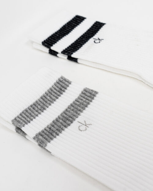 Calzini Lunghi Calvin Klein MEN CREW Bianco – 66853