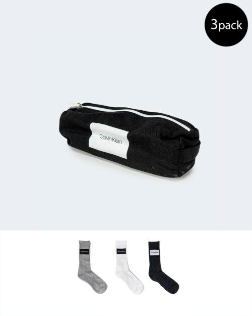 Calzini Lunghi Calvin Klein MEN CREW Grigio – 66850