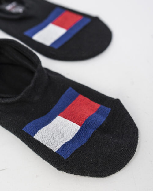 Calzini Tommy Hilfiger FOOTIE 2P FLAG Nero – 71445