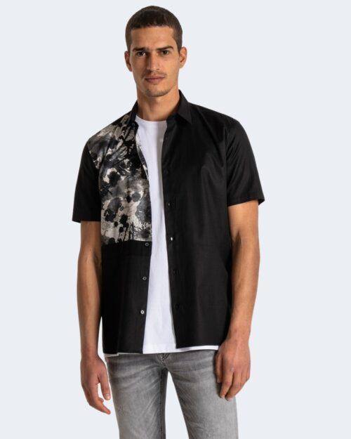 Camicia manica corta Antony Morato REGULAR STRAIGTH Nero – 63503