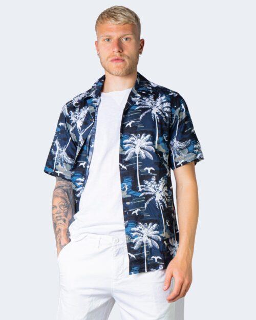 Camicia manica corta Only & Sons PALM Blu – 63328